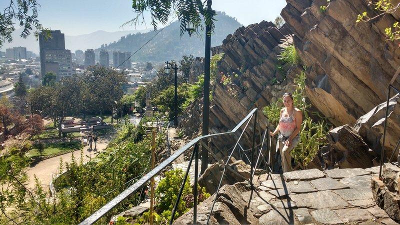 Santiago's mountainous parcs