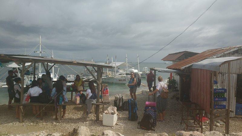 The ferry to Malapascua
