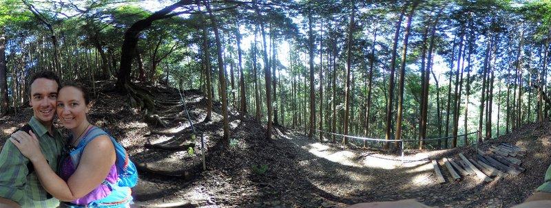 The hike between Kibune and Kerama