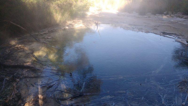 Thermal hot spring near Taupo