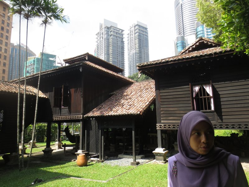 Typical Malay house