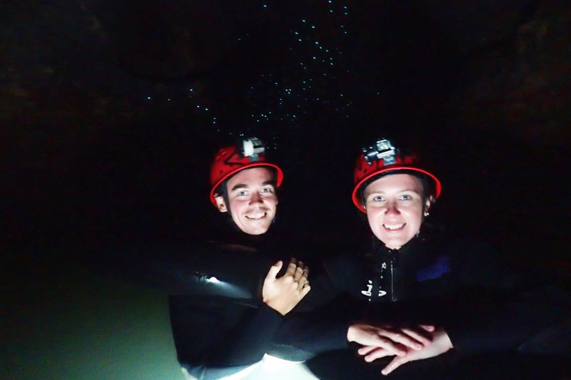 Us with glow worms