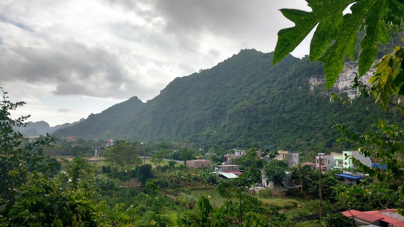 View of Cat Ba Island from Hospital Cave