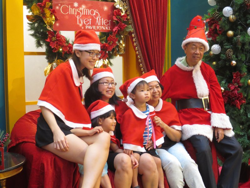 We didn't get to meet the Malay santa like we'd hoped