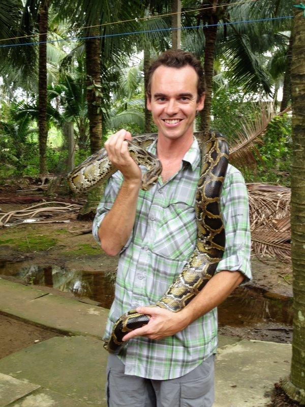 ...and a python