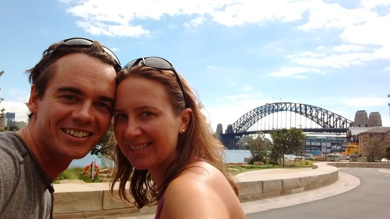 us with the arbor bridge