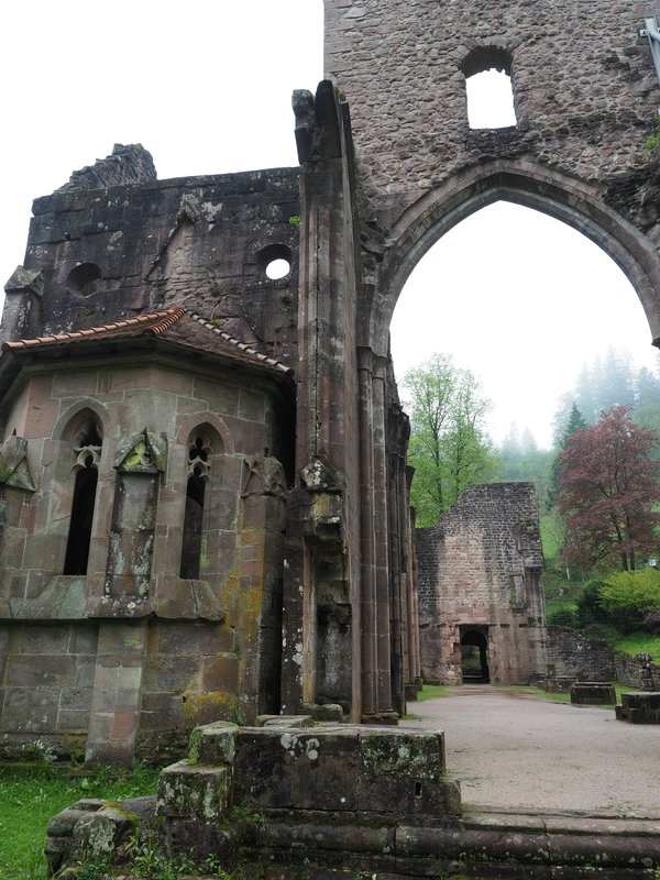 "Ruins of the Monastery ""Allerheiligen"", Black Forrest"