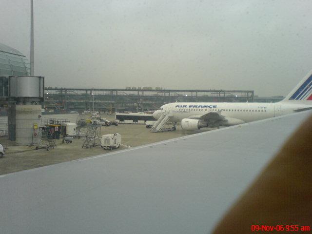 Aaaah Paris..airport