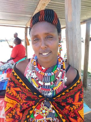 A well dressed and coiffed Masai
