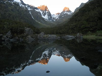 MacKenzie Lake on the Routeburn Track