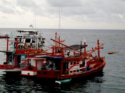 Koh Toa port