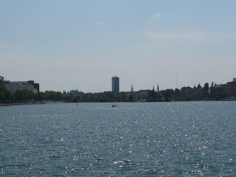 Vue du lac depuis Nørrebro