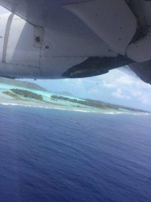 Bora Bora incoming