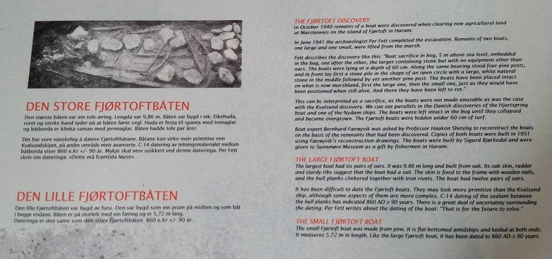 45.15 Info. Wikingerfunde. Begrabene Schiffe von 850 n. Chr.