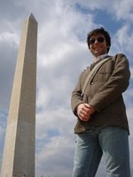 Dave and Washington Monument