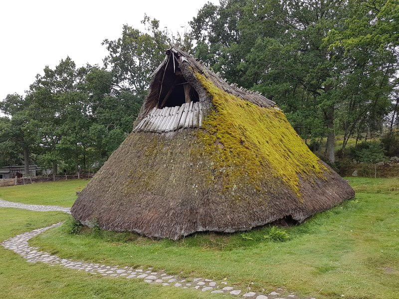 Bronze age farm house in Tanumshede
