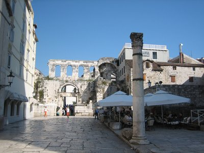 Inside Diocletians Palace