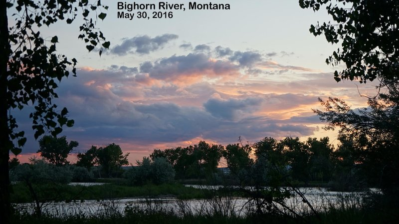 travel journal 2016 0530 bighorn river campsite 10 sundown