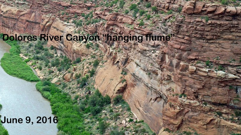 travel journal 2016 0609 dolores canyon 07 hanging flume