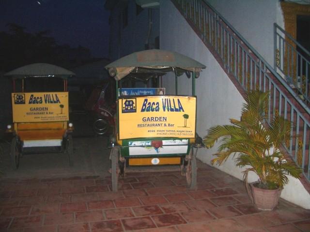 baca villa's 'tuktuk'