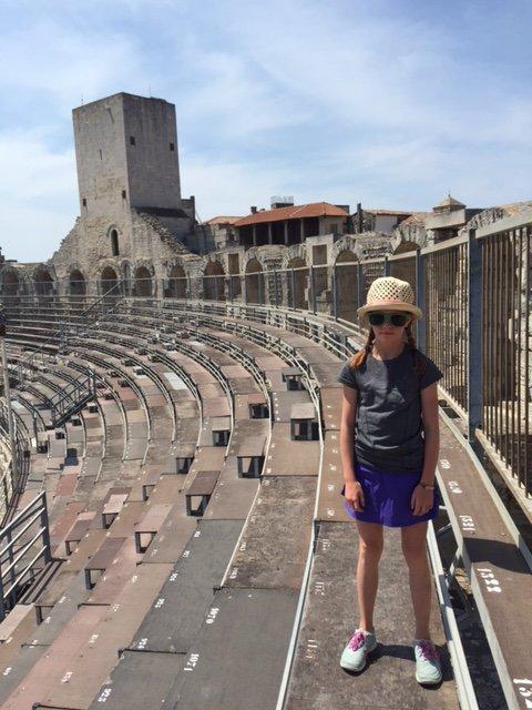 Blair at Amphitheater