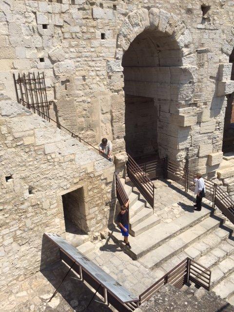 Blake at Roman Amphitheater