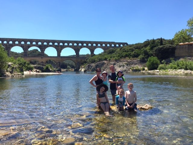 Pont du Gard and the Denux family