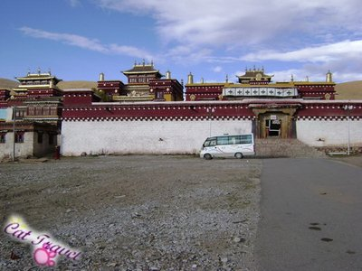 Shangri-la tour--Changqingchunke&#39;er Monastery 4