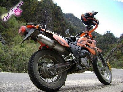 Shangri-la tour--Motorbike