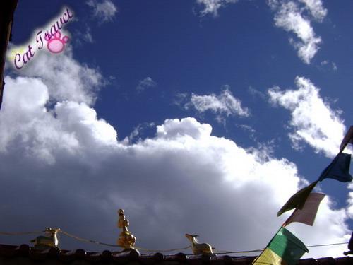 Shangri-la tour--Blue sky