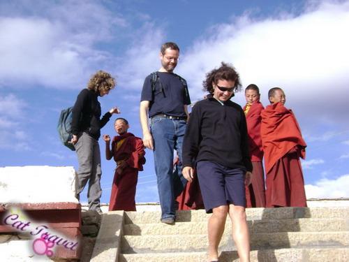 Shangri-la tour--Changqingchunke'er Monastery 2