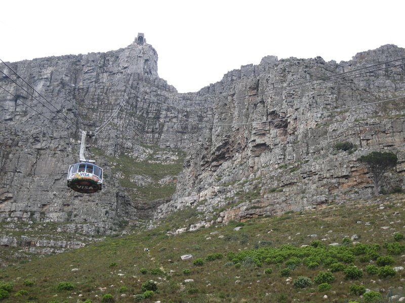 Visit iconic Table Mountain in South Africa