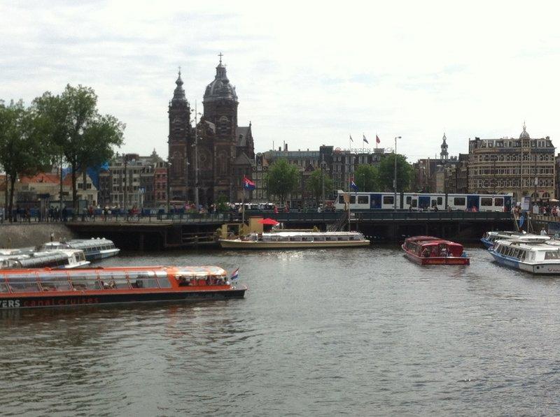 Amsterdam, Dam Canal - by Danielle