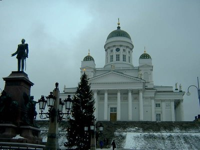 Cathedral, Helsinki in December