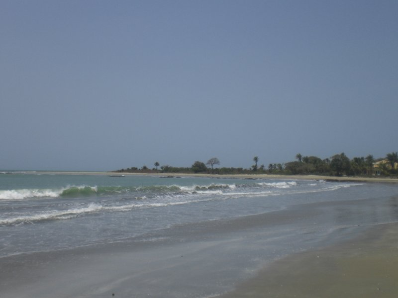 Beach, south Gambia
