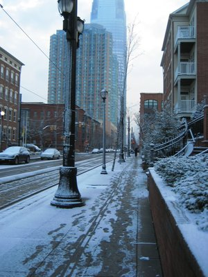 First Snow - Jersey City