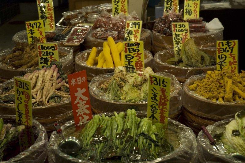 Market, Kyoto