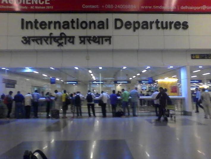 Leaving India...