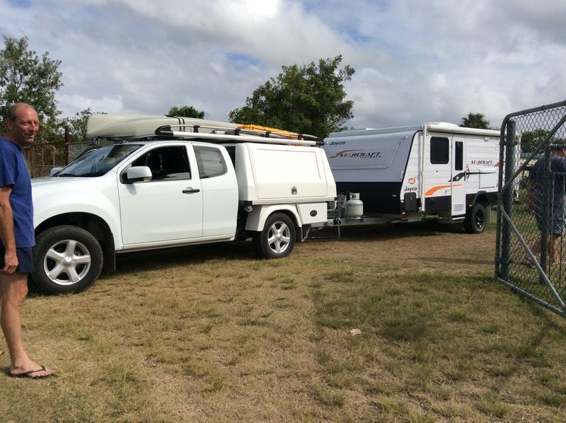DMAX & Jayco ready to roll.
