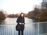 Ich im St. James Park