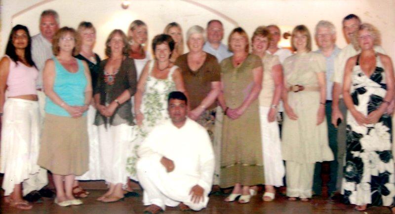 Deepak with British Group