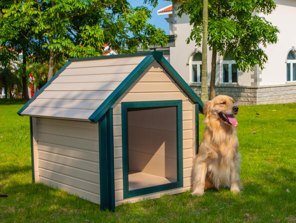 Air conditioned dog houses