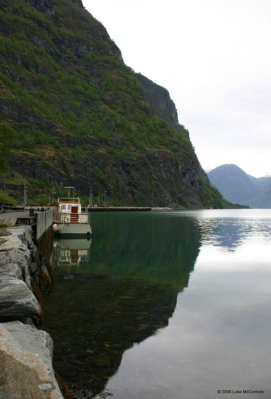 Flam Port, Norway