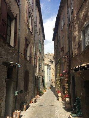Street in Entrevaux