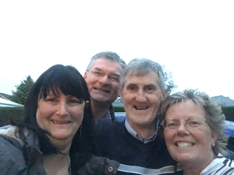 Myself, Gordon, Donald and Margaret