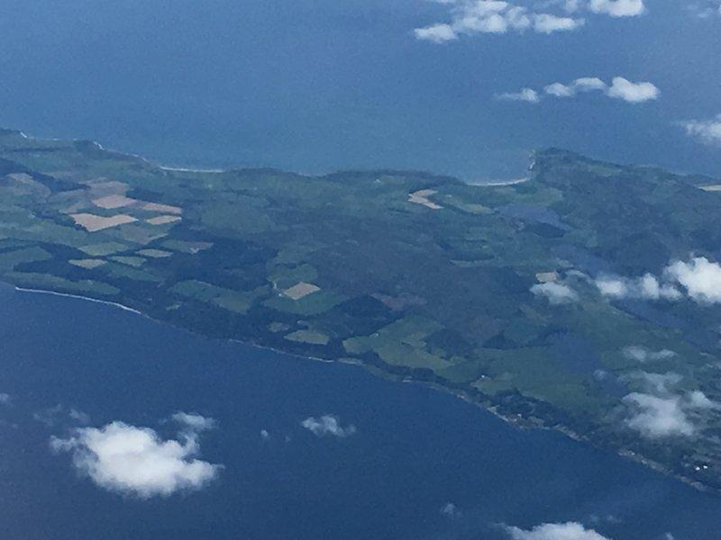 Islands off the coast of Scotland