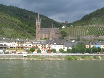 Rhine Cruise from Koblenz to Rudesihem, Germany