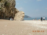 Olympos beach near Antalya, Turkey