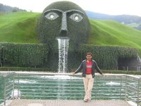 Swarowski Crystal world at Wattens