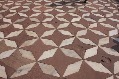 Taj Mahal Pavement